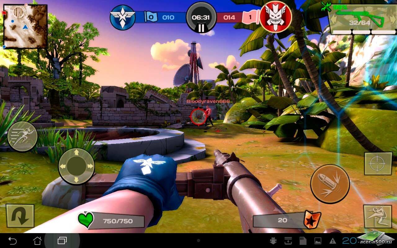"Игра ""Blitz Brigade"" для планшетов на Android"