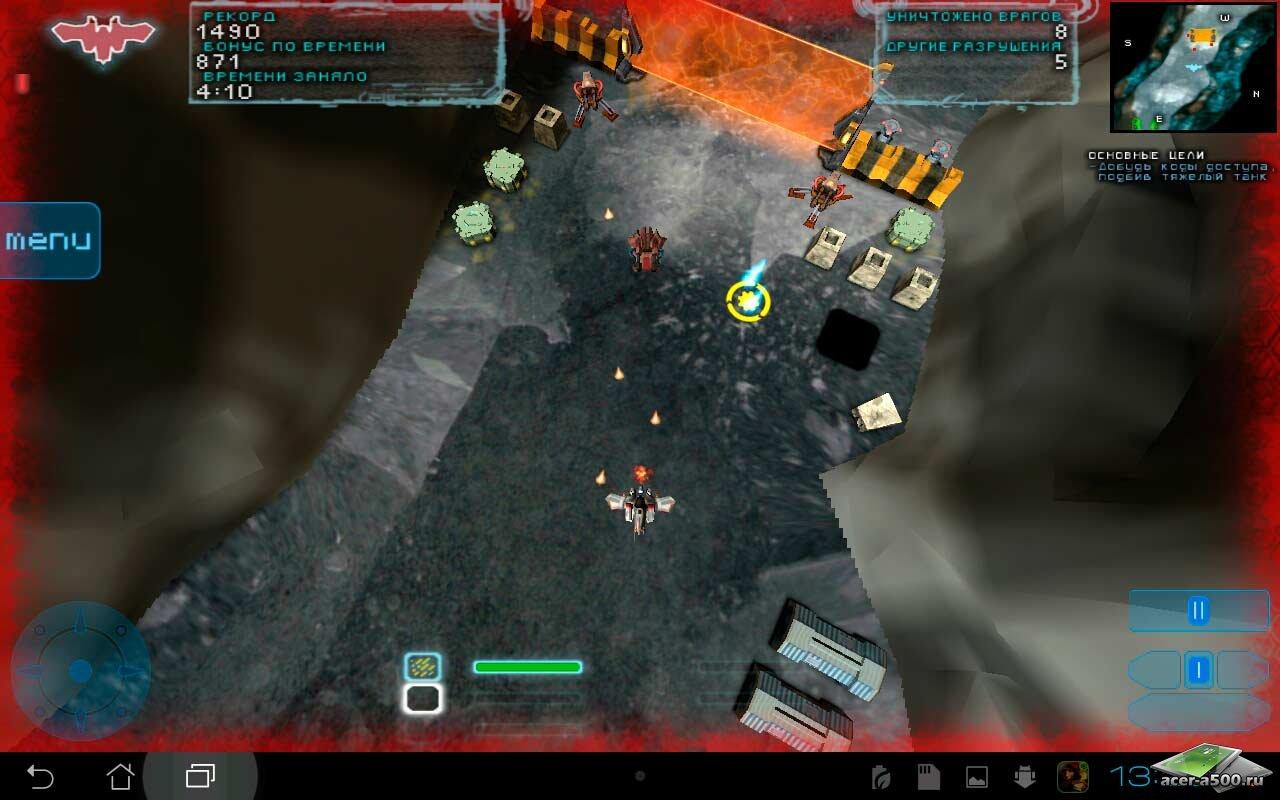 "Игра ""Steel Storm One"" для планшетов на Android"