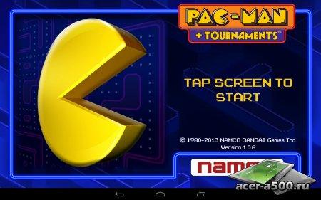 PAC-MAN +Tournaments версия 1.0.6