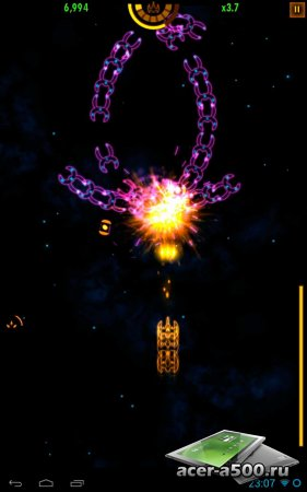 Plasma Sky - rad space shooter версия 2.8.4