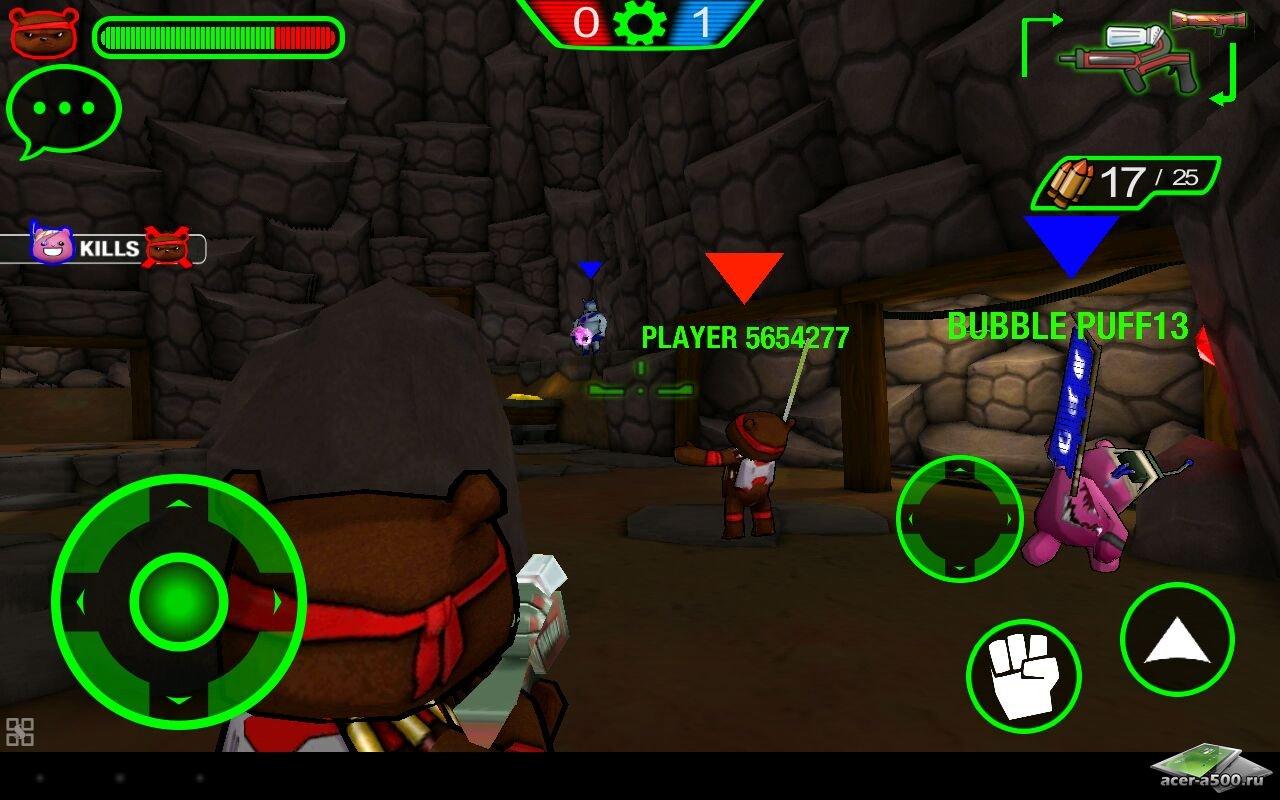 Игра Battle Bears Gold для планшетов на Android
