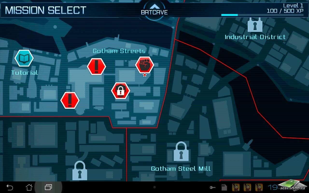 "Игра ""Batman: Arkham City Lockdown"" для планшетов на Android"