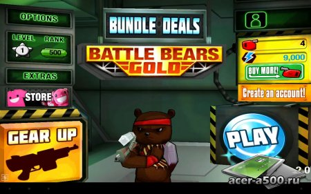 Battle Bears Gold версия 2.0