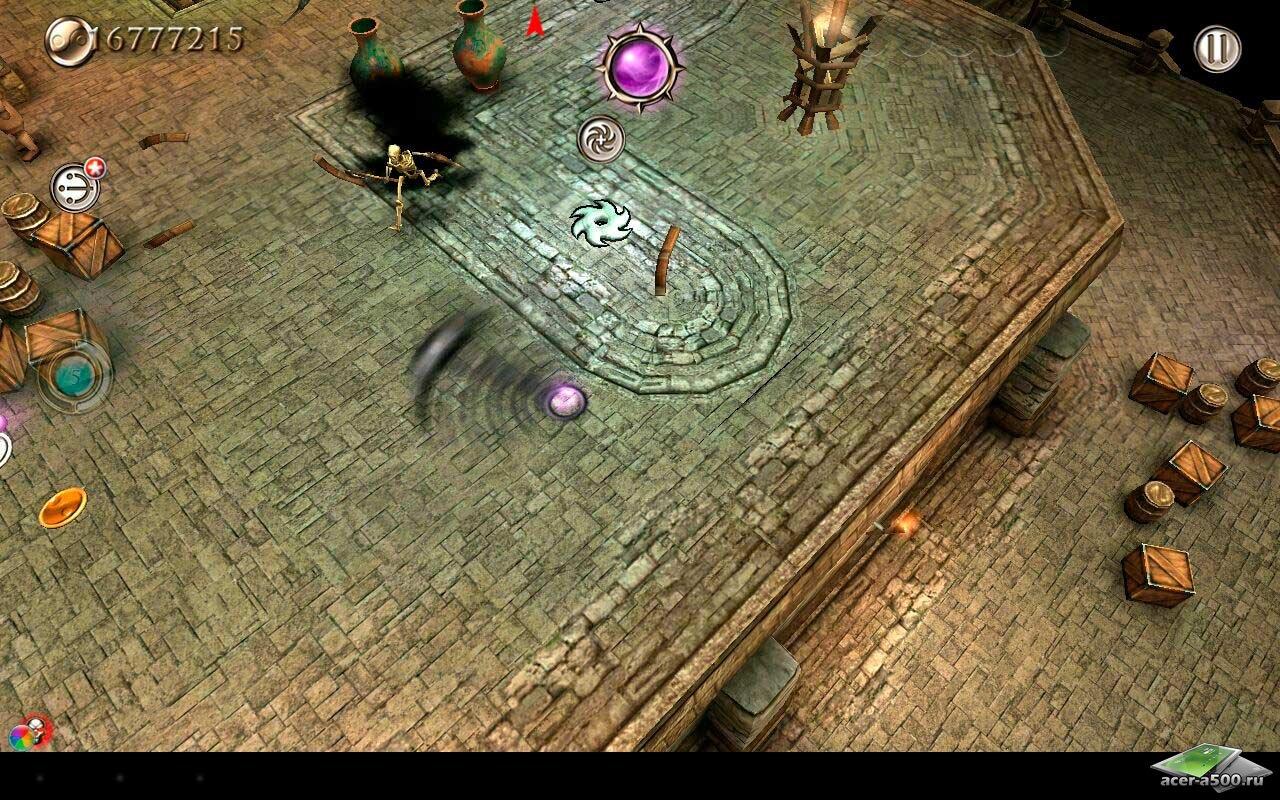 "Игра ""Smash Spin Rage"" для планшетов на Android"