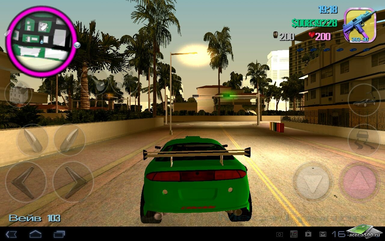 GTA grand, theft, auto : Vice, city (2012 android by tg скачать торрент