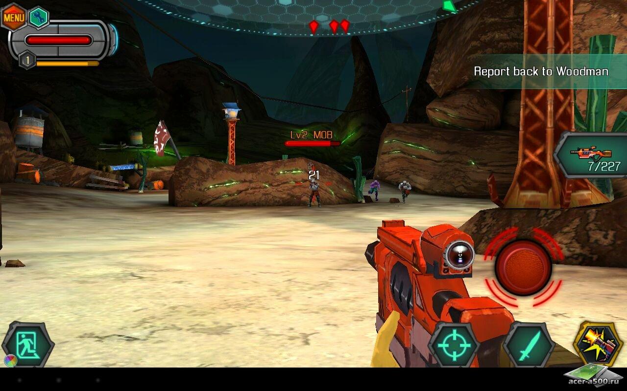 "Игра ""Bounty Hunter: Black Dawn"" для планшетов на Android"