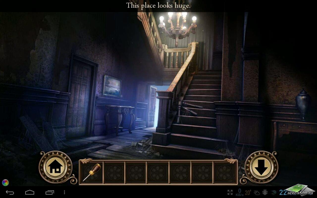 Игра Darkmoor Manor для планшетов на Android
