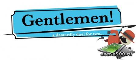 Gentlemen! версия 1