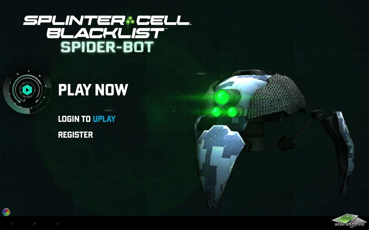 Управляйте Spider-ботом, который спроектировал Сэм Фишер. . Разблокируйте