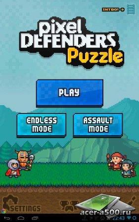 Pixel Defenders Puzzle версия 1.2.7