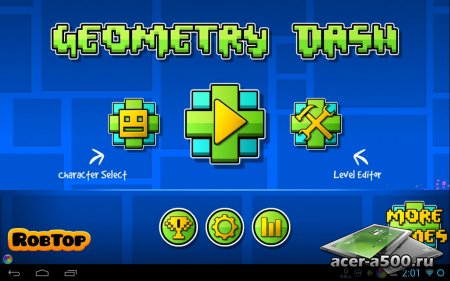 Geometry Dash версия 1.0