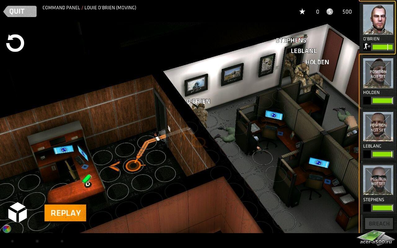 Игра Breach & Clear для планшетов на Android