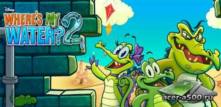 Крокодильчик Свомпи 2 v1.2.0 [свободные покупки]