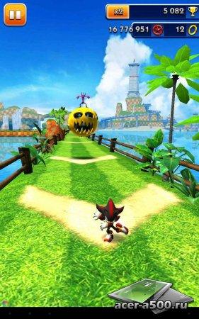 Sonic Dash v1.9.1 [свободные покупки]