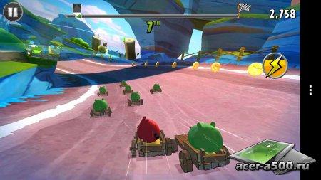 Angry Birds Go! v1.12.0 [мод свободные покупки]