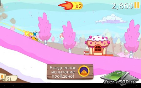 Ski Safari: Adventure Time v1.0.3 [свободные покупки]