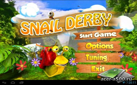 Snail Derby v1.12 [свободные покупки]