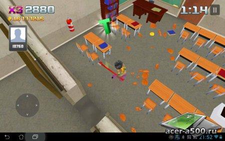 Smash the School - Antistress! v1.1 [свободные покупки]