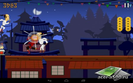 Ninja Mission v1.1 [свободные покупки]