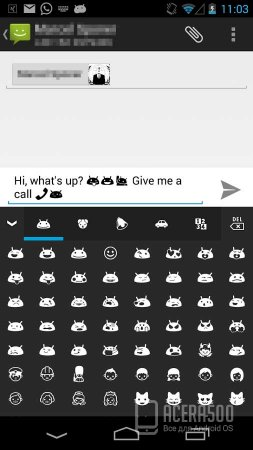 Emoji Keyboard-Emoticon (Emoji для Android)