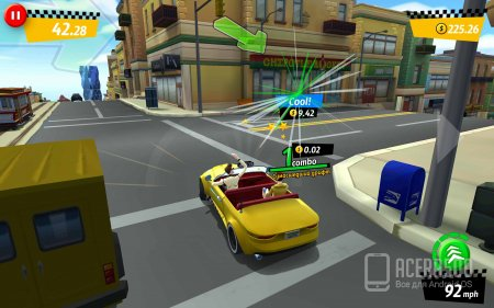 Crazy Taxi™ City Rush v1.4.2 [свободные покупки]