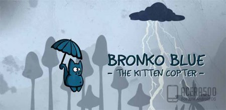 Bronko Blue, the kitten copter