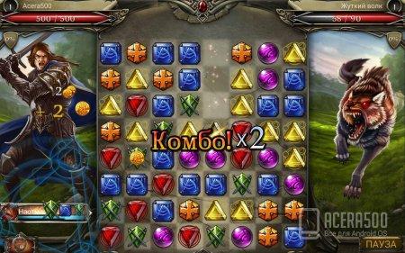 Jewel Fight: Heroes of Legend v1.0.2 [свободные покупки]