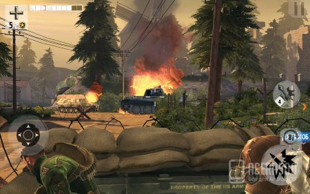 Brothers in Arms 3 v1.4.2p [мод свободные покупки]