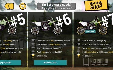 Mad Skills Motocross 2 v1.4.5 [мод]