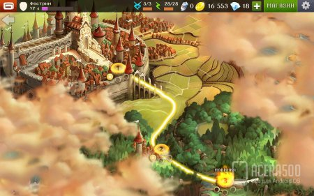Dungeon Hunter 5 v1.7.0f [мод свободные покупки]