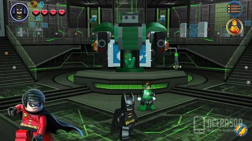 Скриншоты с игры LEGO Batman: DC super heroes