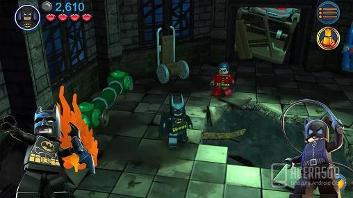 Загрузить LEGO Batman: DC super heroes на планшет android